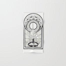 Scissors Hand & Bath Towel
