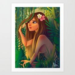 Nymphe Art Print