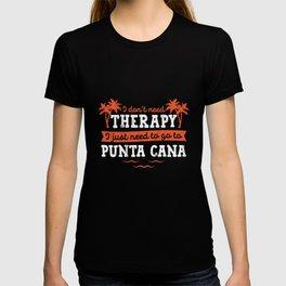 Punta Cana Dominican Republic Vacation TShirt T-shirt