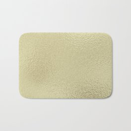 Simply Metallic in White Gold Bath Mat