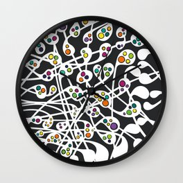 Microcosm I Wall Clock