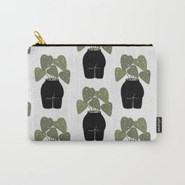 Butt-anical Vase, Body Positivity, Female Nude Carry-All Pouch