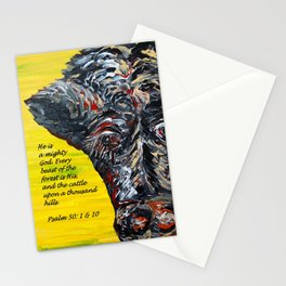 The Cattle on a Thousand Hills Stationery Cards
