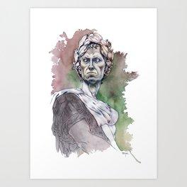 Alea iacta est Art Print