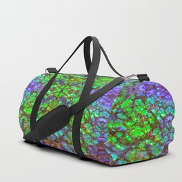 Peacock Ammolite Duffle Bag