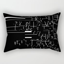 noisy pattern 04 Rectangular Pillow