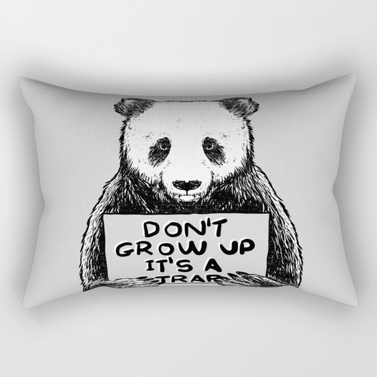 Don't Grow Up It's a Trap Rectangular Pillow