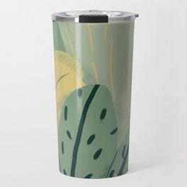 greenery Travel Mug