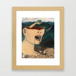 """""""Ascending Into Consciousness""""  Framed Art Print"""