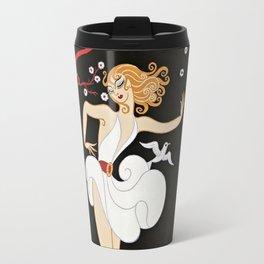 """Art Deco Design """"Femme et le Diable"""" by Erté Travel Mug"""