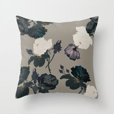 Black Roses Throw Pillow