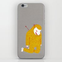 the fault iPhone & iPod Skins featuring Everything is my fault by i am gao