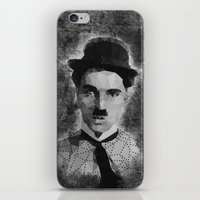 chaplin iPhone & iPod Skins featuring Chaplin by Dino cogito