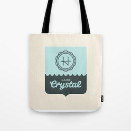 Crystal Lake – Badge Tote Bag