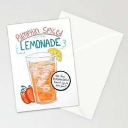 Pumpkin Spiced Lemonade (Original) Stationery Cards