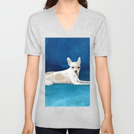 The Chihuahua Unisex V-Neck