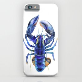 Blue Lobster №1 iPhone Case