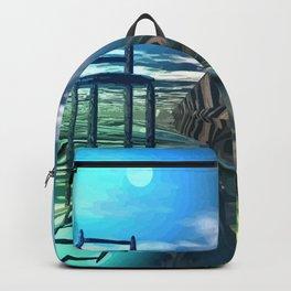 Der leere Stuhl Backpack