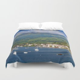 Saint Pierre, Martinique Duvet Cover
