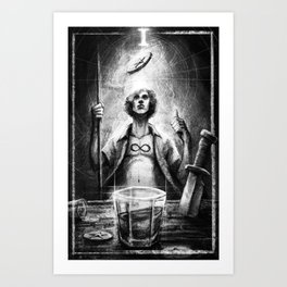The Magician Art Print