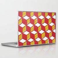 geo Laptop & iPad Skins featuring Geo by houlihan
