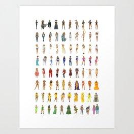 Rainbow #BeyParade Art Print