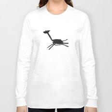 black giraffe Long Sleeve T-shirt