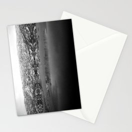 Mountain Reflections - Black & White Stationery Cards