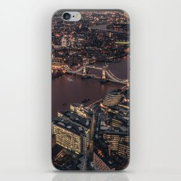 London #society6 #decor #buyart iPhone Skin