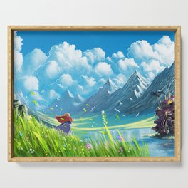 Howls Moving Castle Serving Tray
