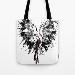 inked phoenix Tote Bag