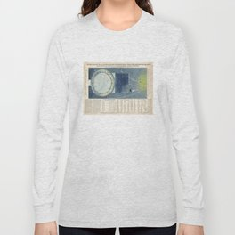 Vintage Celestial Star Map with Planetary Orbits (1858) Long Sleeve T-shirt