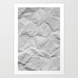 Wrinks and Crumps Art Print