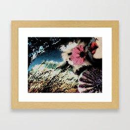 Mosaic Composition Framed Art Print