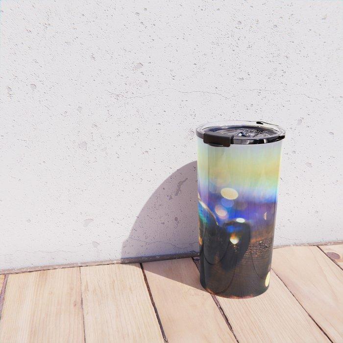 Colours of the Rainbow Travel Mug