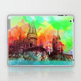 Watercolor Hogwarts Laptop & iPad Skin