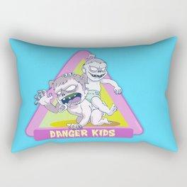 Danger Kids Rectangular Pillow