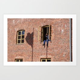 Brick Photographer Art Print