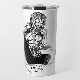 Damaged Cyborg Travel Mug