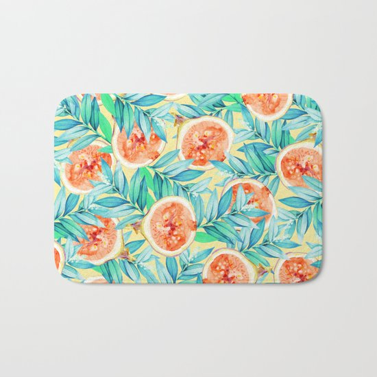 Figs #society6 #decor #buyart Bath Mat