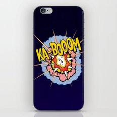 Ka Boom Pop Art iPhone & iPod Skin