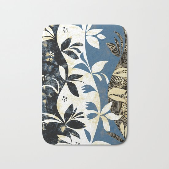 Climbing Plants Bath Mat