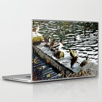 ducks Laptop & iPad Skins featuring Ducks  by MaximusMax76