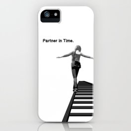 Partner in Time Tracks, Max Caulfield Matching Set iPhone Case