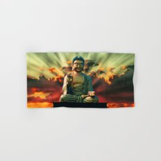 Buddha Sunrise Hand & Bath Towel