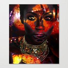 The Masks of Colour 4  Canvas Print