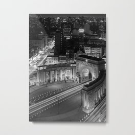 Triumphal Arch and Colonnade, 2017 Metal Print