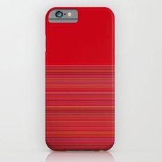 Re-Created  Color Field and Stripes 4 by Robert S. Lee Slim Case iPhone 6