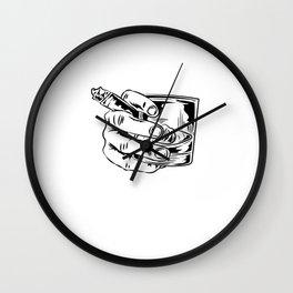 Whiskey Business Gentleman Bourbon Single Malt Wall Clock