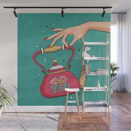 Time For Tea Wall Mural